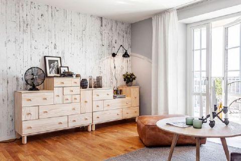 客厅背景墙现代中式风格效果图