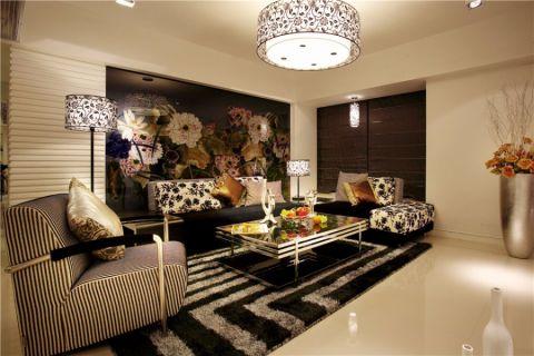世贸香槟湖彩色120—180平米现代简约大户型装修效果图