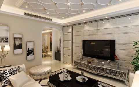 客厅吊顶现代风格装潢图片