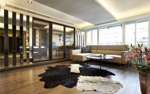 保利居上115平现代复古风格两房两厅装修效果图