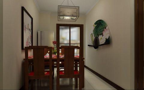 餐厅照片墙中式风格装饰效果图