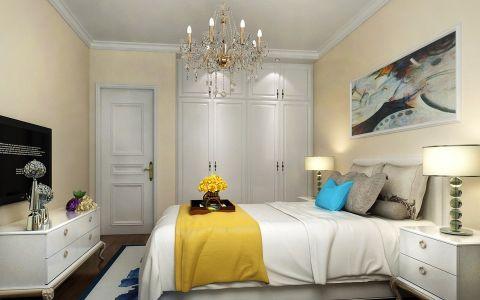 小马花园三居室现代风格效果图
