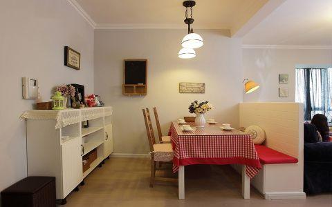 凯尔锋度110平米美式风格loft公寓装修效果图