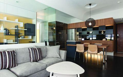 凯尔锋度110平米现代风格loft公寓装修效果图