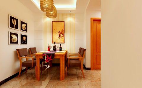餐厅隐形门简约风格效果图