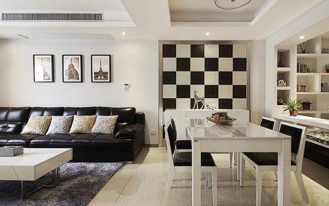 吾悦广场110平米现代风格loft公寓效果图