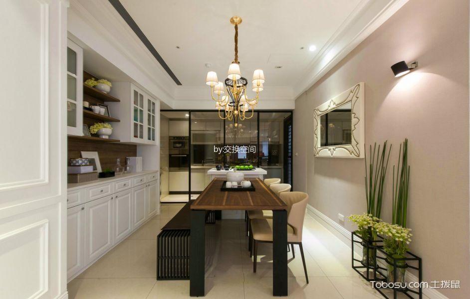 汇祥林里彩色100平米简约时尚风格两室一厅实景装修效果图
