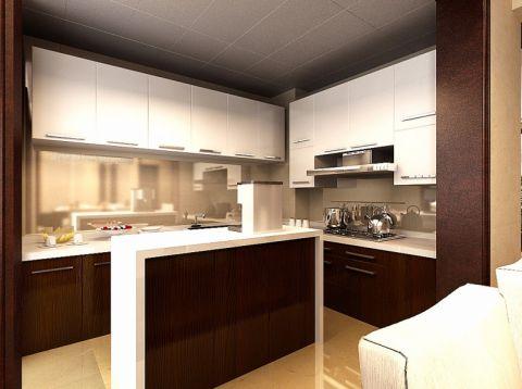 名流印象130平米中式风格三房两厅装修效果图