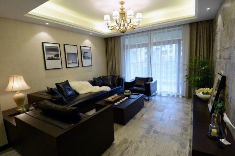 中海雍城世家110平方現代簡約三房兩廳效果圖