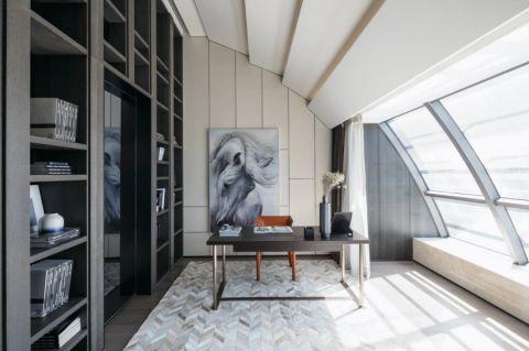 宏德嘉园120平米现代风格三房两厅装修效果图