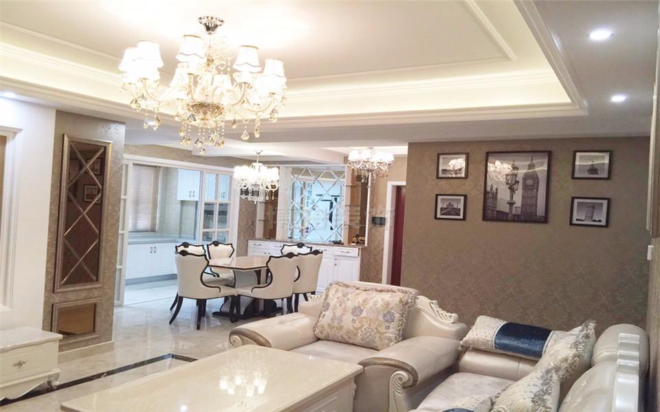 4室1卫2厅130平米简欧风格