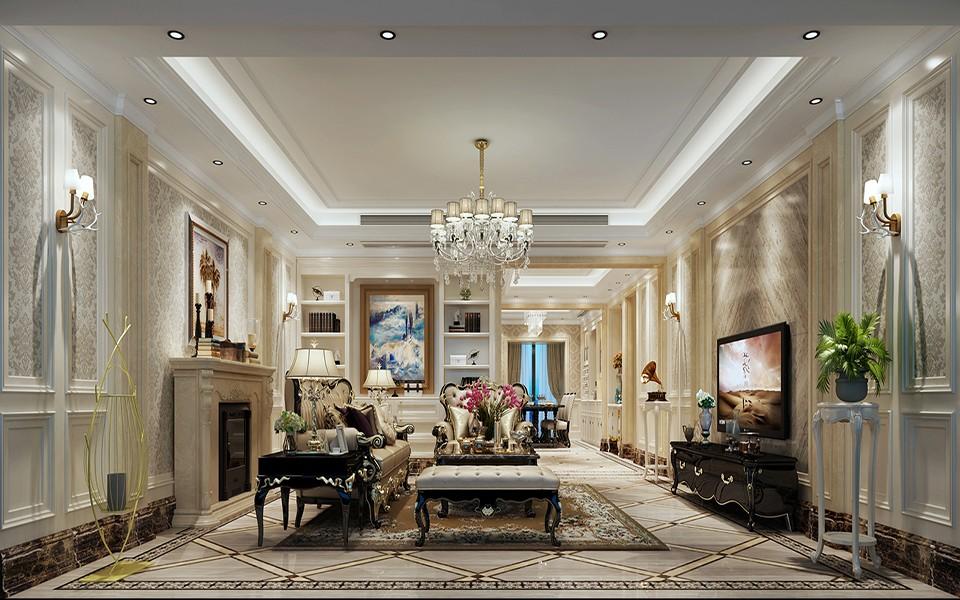 4室3卫2厅210平米简欧风格