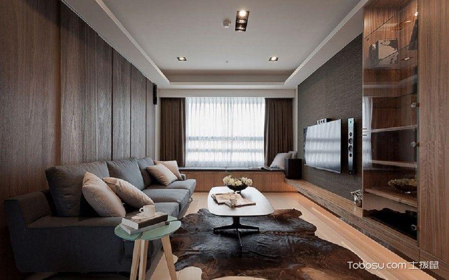 誉珑湖滨二期新古典八十八平装修案例