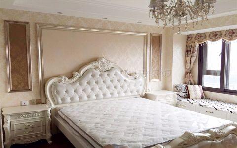 卧室窗帘简欧风格效果图