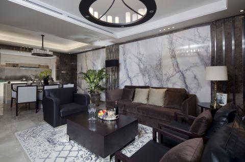 宏德嘉园三居室现代风格装修效果图