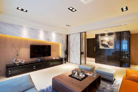 客厅背景墙古典风格装修效果图