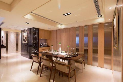 餐厅走廊古典风格装饰效果图