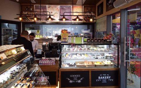 提拉米酥工业风格甜品店工装中心效果图