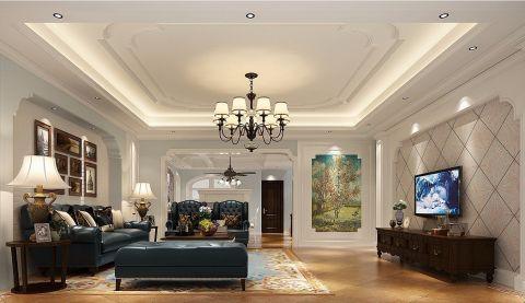 中央香榭别墅美式风格效果图