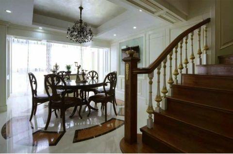 餐厅楼梯简欧风格装饰效果图