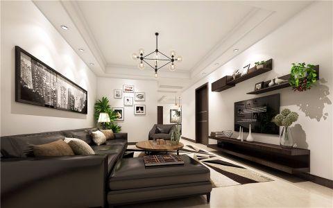 2020现代100平米图片 2020现代二居室装修设计
