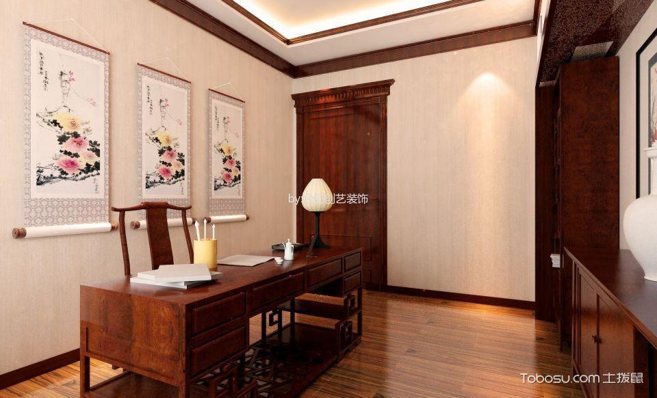 2021中式300平米以上装修效果图片 2021中式三居室装修设计图片