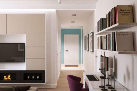 2019简约60平米装修效果图片 2019简约公寓装修设计