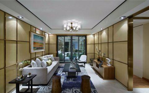 中海塞纳丽舍两居室现代简约家装效果图