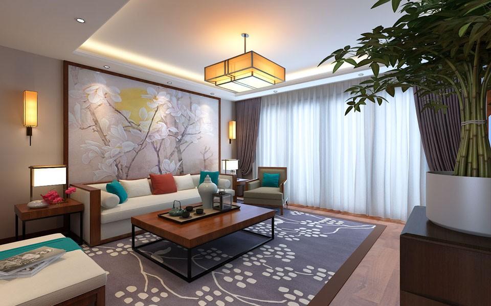 4室2卫2厅153平米新中式风格