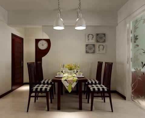 餐厅背景墙现代简约风格装饰效果图