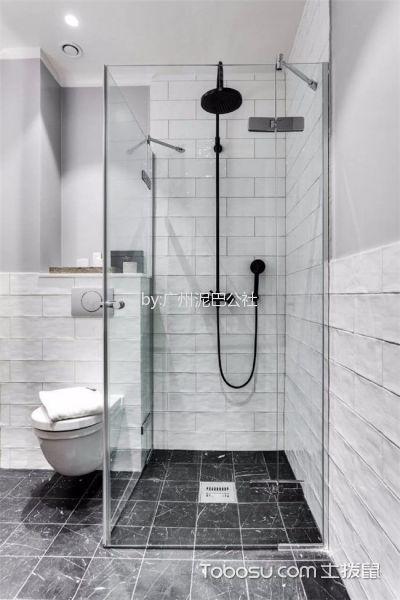 斯德哥尔摩风法式二居室效果图