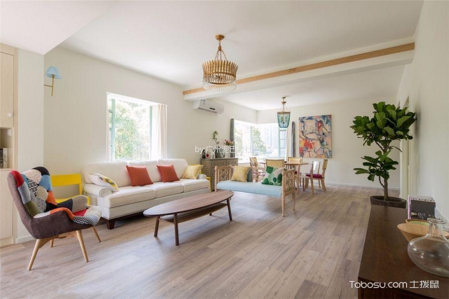 和达城两居室简约风格二居室效果图