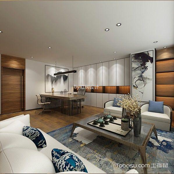 现代风格美容院茶几沙发装饰图片欣赏