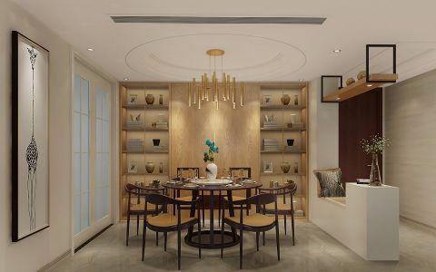 质朴餐厅现代家装设计