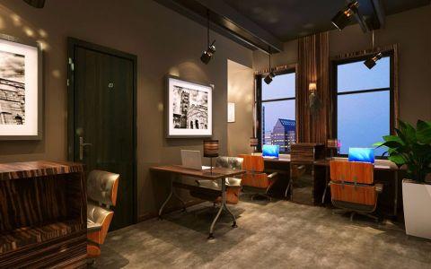 320平米金都大厦办公室工装效果图