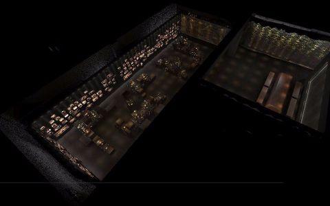 欲厚堂1400平米博物馆工装效果图