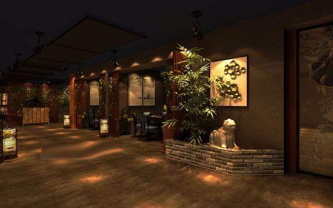 800平米汐谷港湾地下餐厅工装效果图
