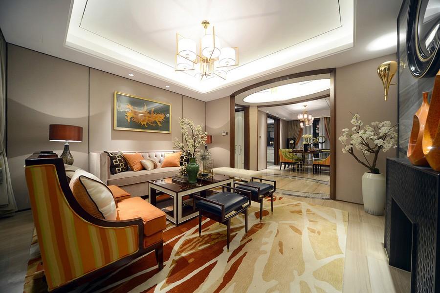 3室1卫1厅95平米东南亚风格