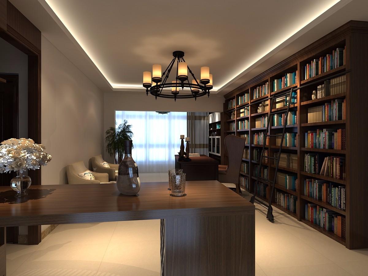 2室2卫1厅110平米现代风格