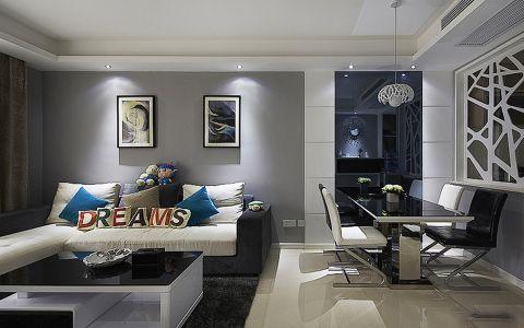 客厅背景墙现代风格装修图片