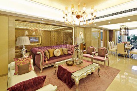 杭州龙湖春江郦城168平四居室古典装修效果图