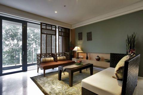 杭州天阳尚城国际115平三居室现代效果图