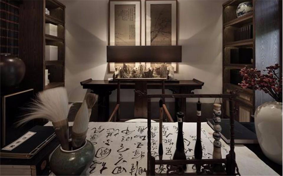 4室1卫2厅127平米中式古典风格