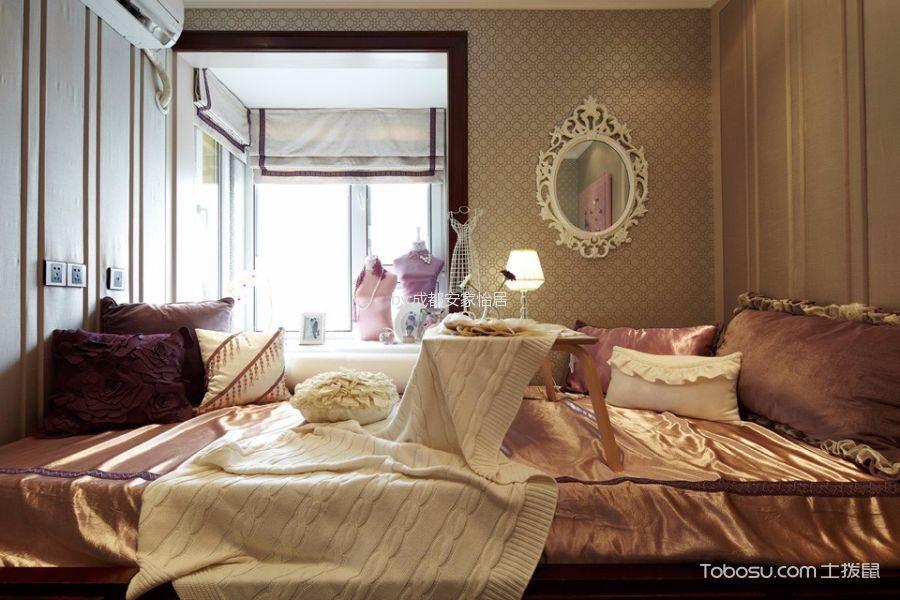 2019欧式卧室装修设计图片 2019欧式隐形门装修图