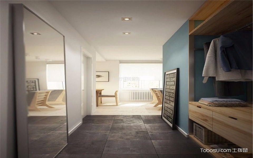 南方花园90平两居室现代空间装修效果图
