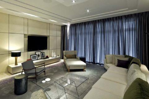 龙湖紫云台现代简约300平装修效果图
