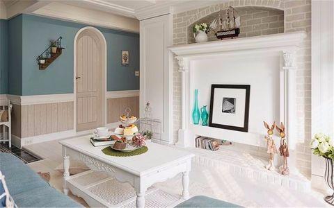 金王府80平两居室美式风格装修效果图