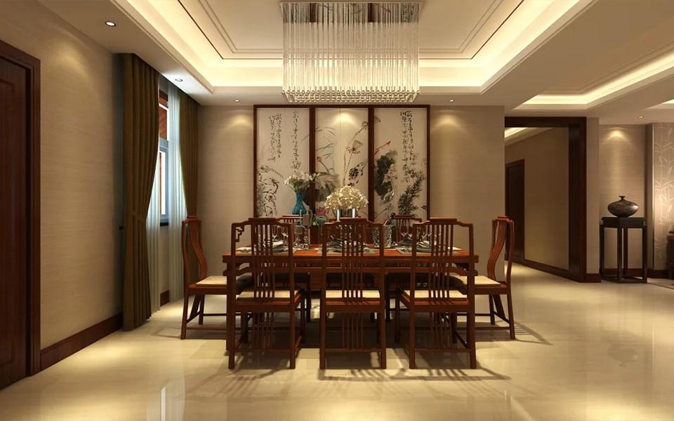 4室2卫2厅178平米中式风格