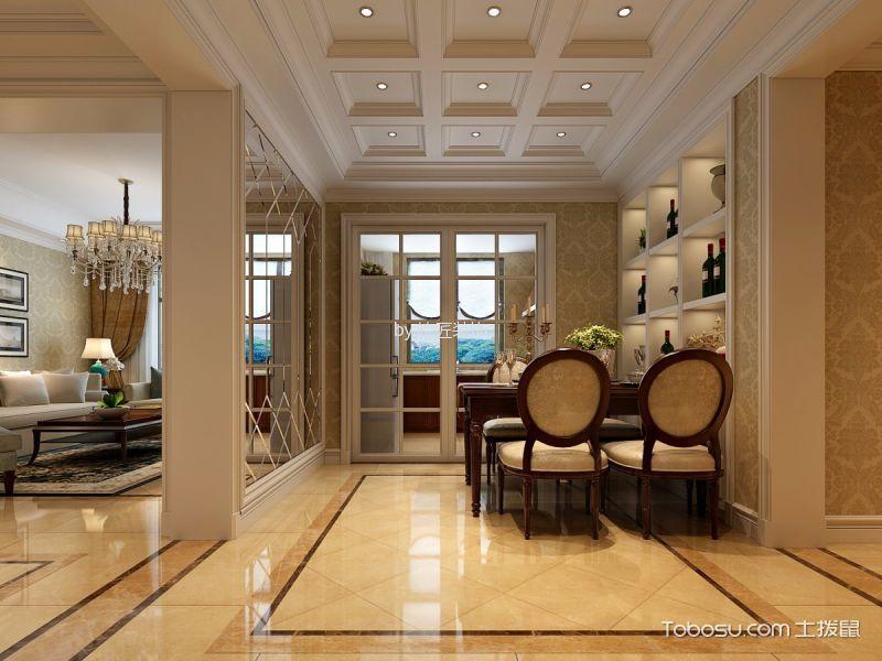 客厅吊顶简欧风格装饰设计图片图片