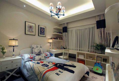 卧室吊顶地中海风格装修设计图片